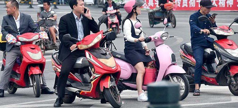 фото лучшие китайские скутеры