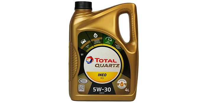 фото моторное масло TOTAL Quartz INEO ECS 5W30