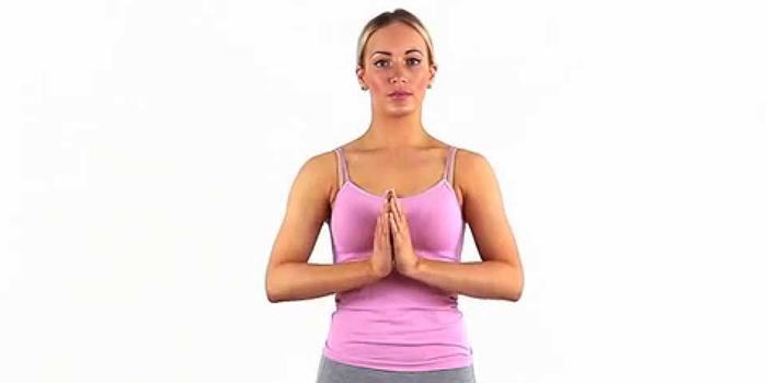 фото упражнение молитва