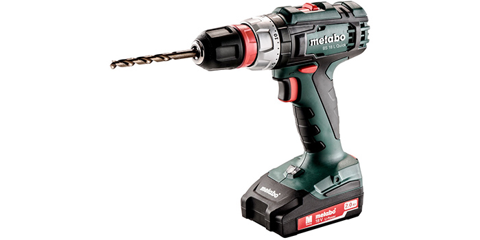 фото Metabo BS 18 L Quick 2.0Аh