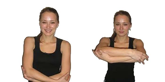фото упражнение колыбель