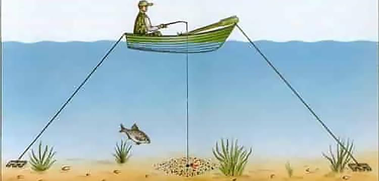 картинка ловля леща в стоячей воде