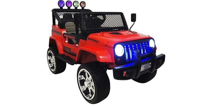 фото RiverToys Jeep T008TT
